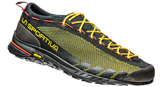 La Sportiva TX2 Approach Shoes Unisex black/yellow